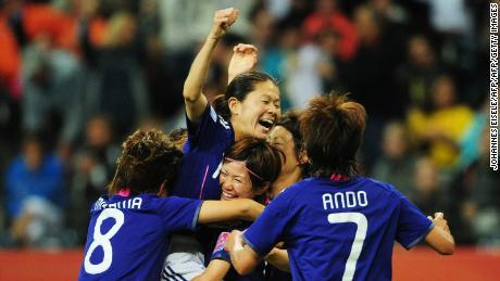Le Japon a battu les États-Unis 5-3 aux tirs au but pour remporter la Coupe du monde en 2011.