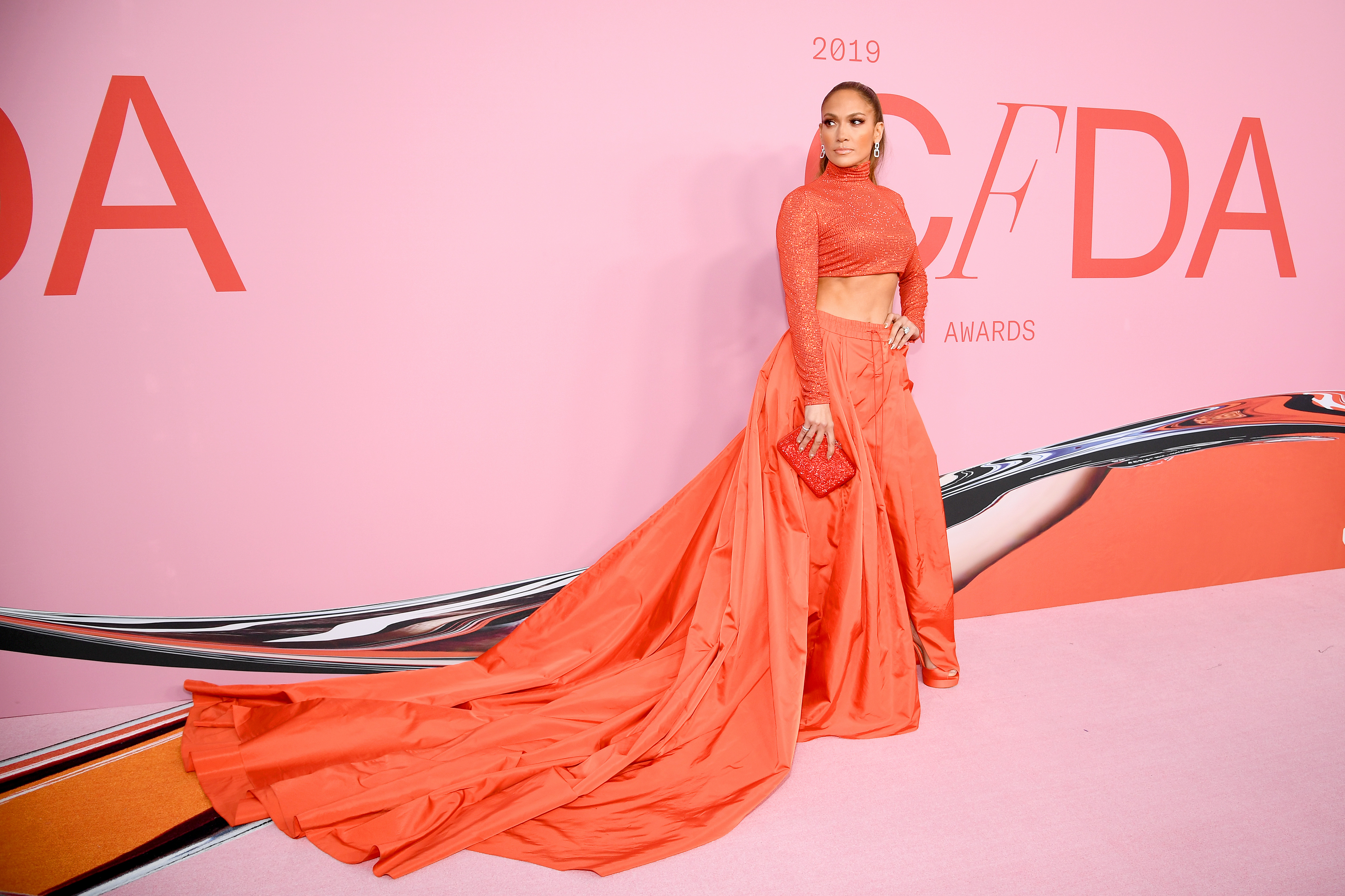 Jennifer Lopez And Barbie Are Winners At The Cfda Fashion Awards 2019 Cnn Style