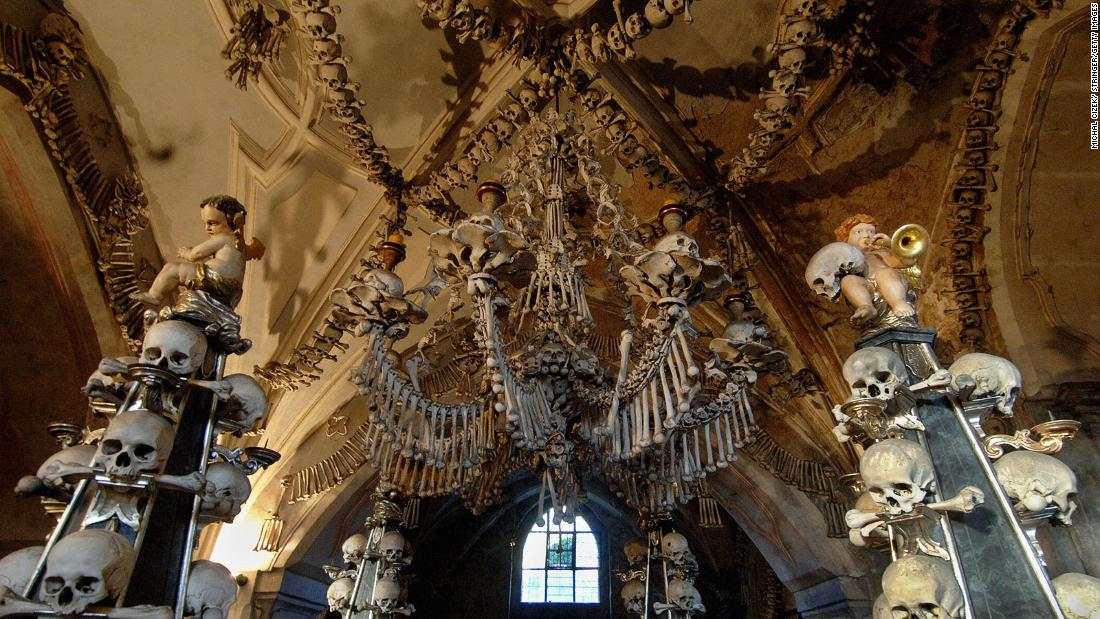 Czech Republic's Sedlec Ossuary, aka 'Church of Bones,' to ban selfies