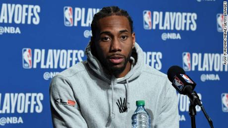 Kawhi Leonard Sues Nike For 'Klaw' Logo Copyright