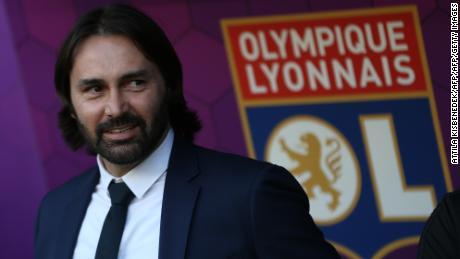 Pedros est entraîneur de Lyon depuis 2017.