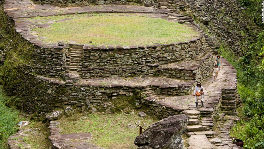 Colombia's 'Lost City' is older than Machu Picchu, and hardly anyone visits