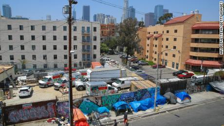 Homelessness deteriorated in the Los Angeles County despite the huge investment. Some other cities see a reduction