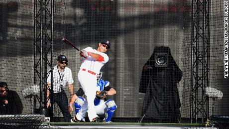 MLB hosted a 'Battlegrounds' event featuring baseball superstars and England international cricketers competing in a home run derby in 2017.