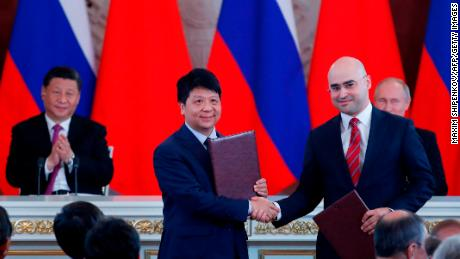 Huawei, Russian Telecom Firm Ink Deal to Build 5G Network