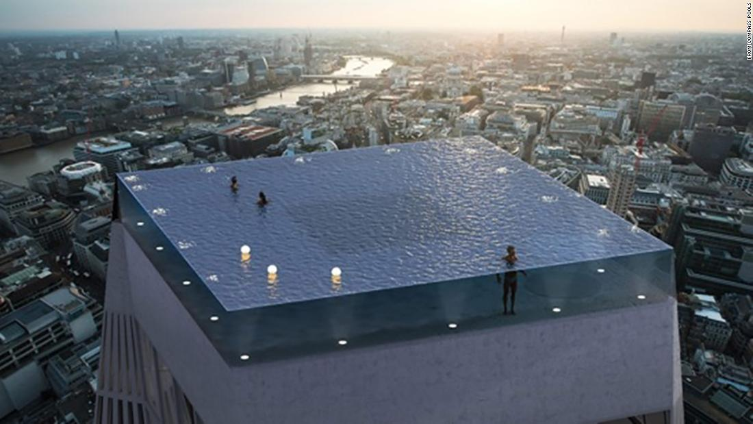 London to get 'world's first' infinity pool with 360-degree views