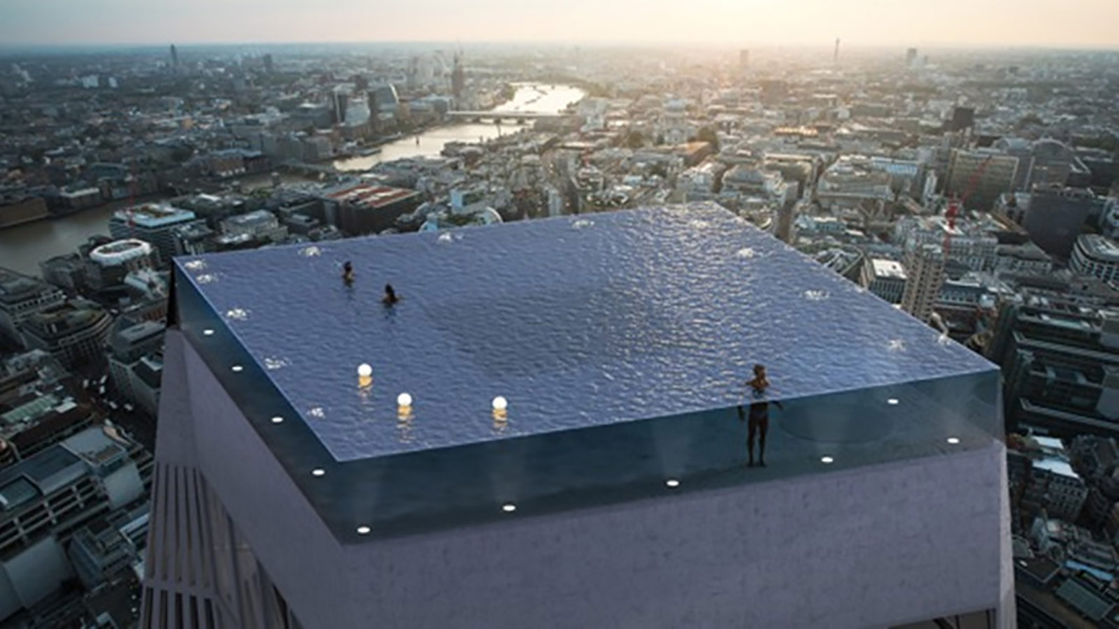 London to get \'world\'s first\' infinity pool with 360-degree ...