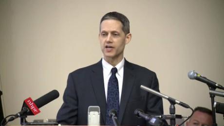 Jeffrey Strelzin, procureur général adjoint du New Hampshire, s'entretiendra avec des journalistes le jeudi 6 juin.