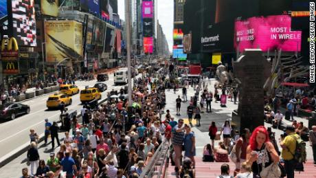 Man arrested for plotting to detonate explosives in Times Square