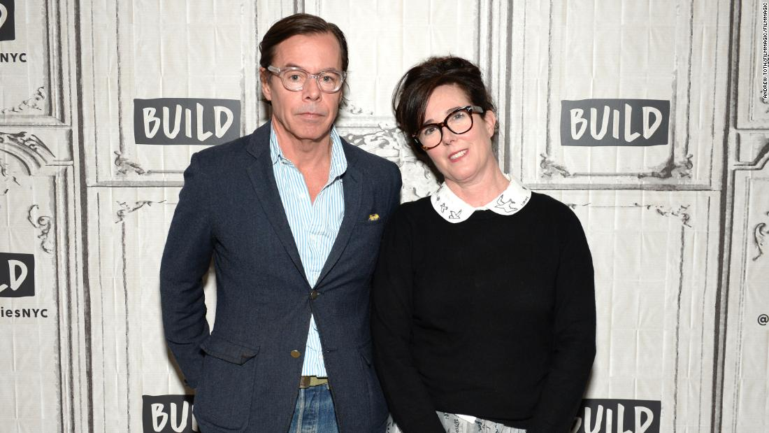 Kate Spade's husband posts moving tribute to the late designer - CNN