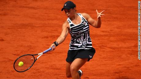Ashleigh Barty a remporté son premier titre en Grand Chelem à Roland Garros