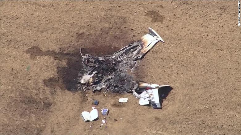 2 people died when a small plane crashed in New York. A dog on board survived