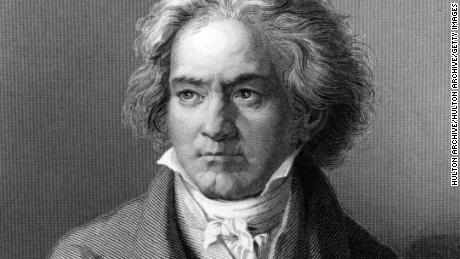 Compositeur et pianiste allemand Ludwig van Beethoven.