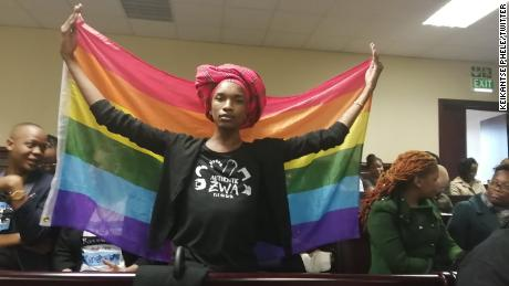 Cheers as Botswana's high court decriminalises gay sex