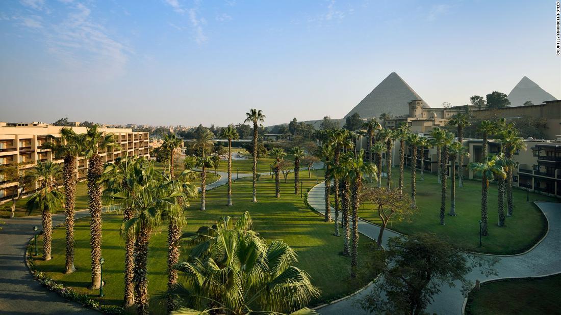 Sleeping in history: Egypt's vintage hotels