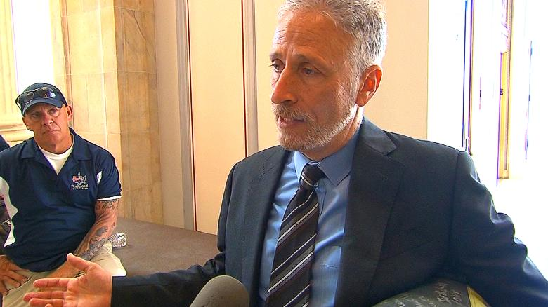 Comedian Jon Stewart lashes out at USA  congress over 9/11 victims' fund