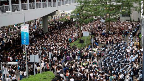 Hong Kong protests over China extradition bill