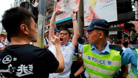Hong Kong protests: Two people in serious condition as legislature on lock down