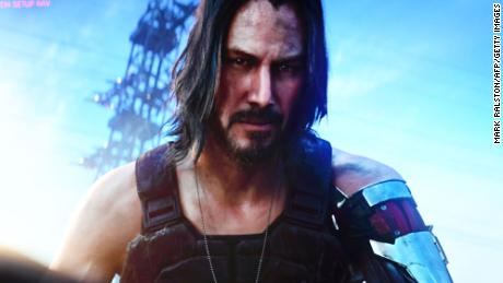 The highly anticipated video game starring Keanu Reeves is finally here