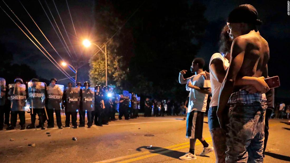 Memphis protesters hurl bricks and rocks at police, injuring 36 officers in outrage over a man's death - CNN