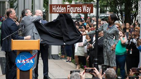 Street outside NASA's D.C. office renamed for 'Hidden Figures'