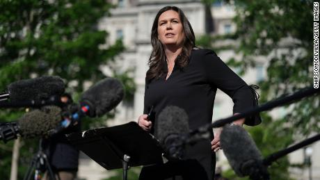 Sarah Huckabee Sanders Apologizes for Mocking Biden's Remarks on Stuttering