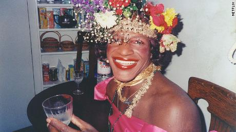 Marsha P. Johnson, a black transgender woman, was a central figure in the gay liberation movement