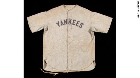 Babe Ruth Jersey Sets a Record