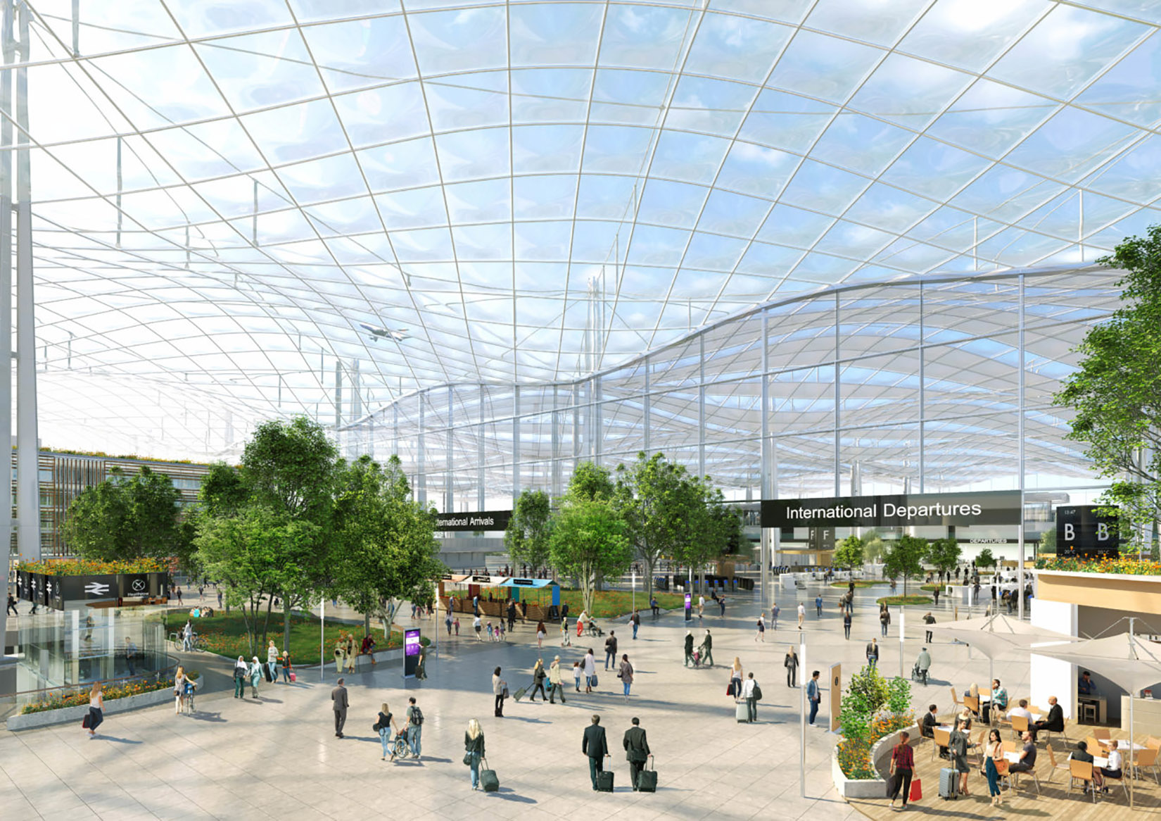 London Heathrow Airport's expansion 'masterplan' revealed | CNN Travel