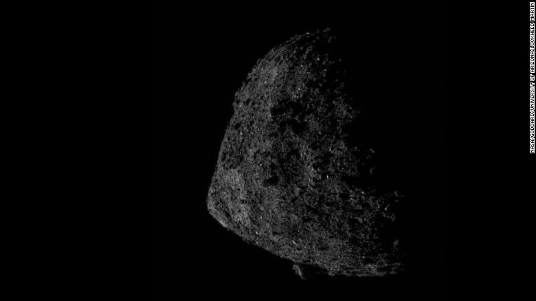 Asteroid Bennu Sample Site Finalists