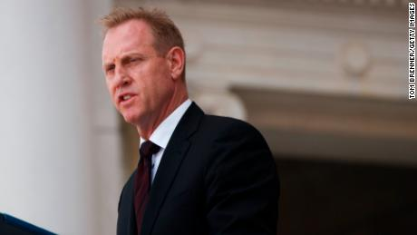 Trump says Acting Defense Secretary Shanahan withdraws his nomination