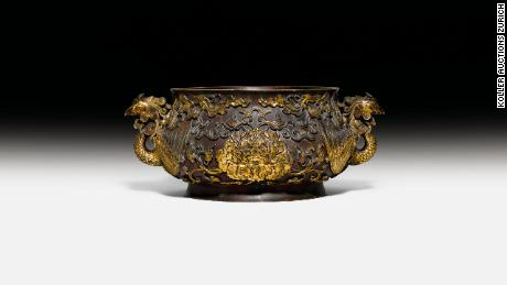 17th-century Chinese incense burner sold for $4.9M
