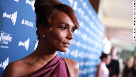 """""""Pose"""" director and writer Janet Mock at the GLAAD Media Awards in 2019."""