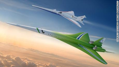Lockheed Martin unveils plans for quiet supersonic passenger airplane