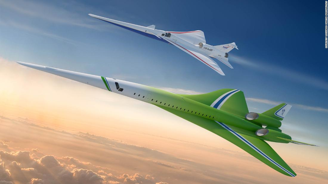 Supersonic QSTA airplane design revealed by Lockheed Martin