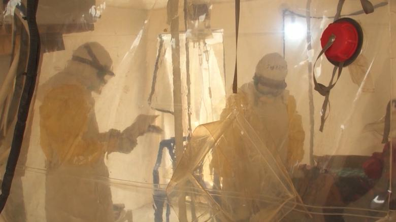 Doctors using new tools to fight ebola outbreak