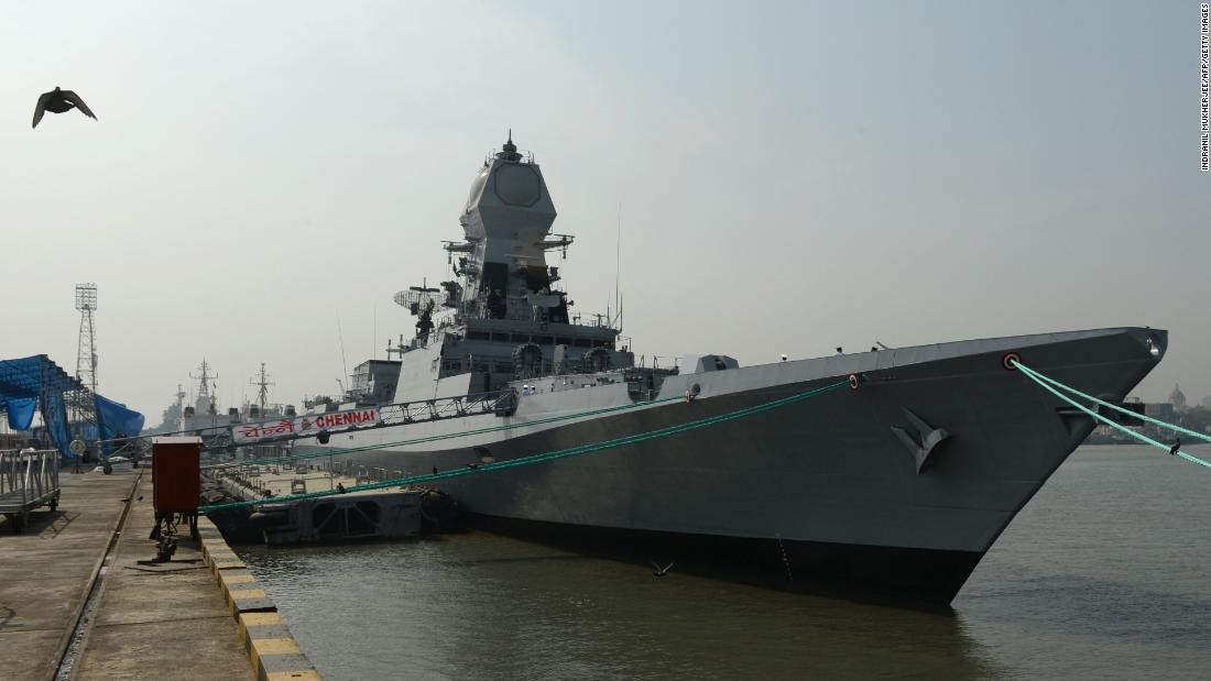 India sending warships to the Middle East to protect shipping - CNN