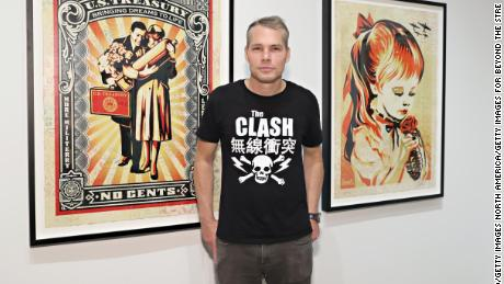 'Hope' artist Shepard Fairey on the 2020 presidential election and disrupting the status quo