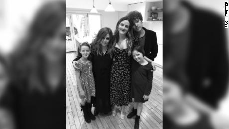 Lisa Marie Presley shared a family photo, and fans see an Elvis double