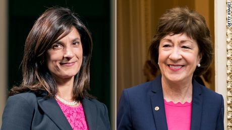 سارا گیدئون از حزب دموکرات مسابقه سنا در ماین را به سوزان کالینز جمهوری خواه واگذار کرد