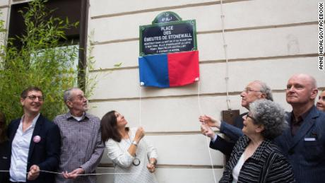 Paris names four squares and streets for LGBTQ icons