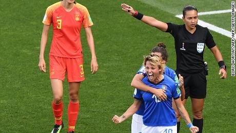 L'Italie bat la Chine pour atteindre les quarts de finale de la Coupe du Monde Féminine