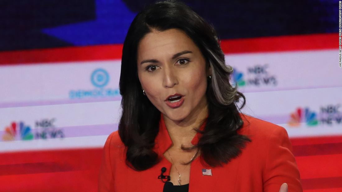Tulsi Gabbard, the most searched candidate after debate, sues Google - CNNPolitics