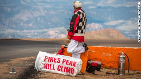 The Pikes Peak International Hill Climb is an annual automobile and motorcycle hillclimb to the summit of Pikes Peak