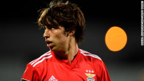 Atletico Madrid has confirmed the signing of 19-year-old Joao Felix.