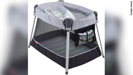 Fisher-Price recalls another inclined sleeper amid safety concerns