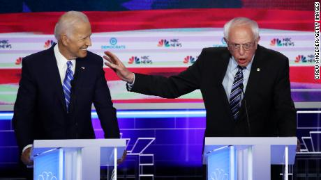 Biden, Sanders fight over more than health care