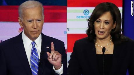 Harris et Biden se disputent la déségrégation une semaine après le premier débat