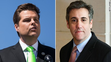 Gaetz Pans New Ethics Probe For 'Psychoanalyzing My Tweets' About Michael Cohen