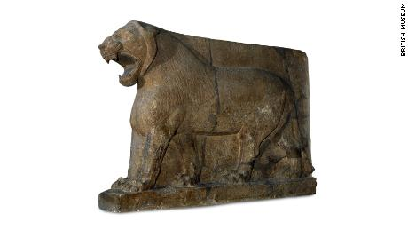 ISIS destroyed the Lion of Mosul sculpture. It was re-created with 3-D printing and crowdsourced images
